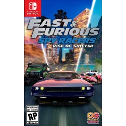 Fast & Furious : Spy Racers Rise of SH1FT3R - Switch