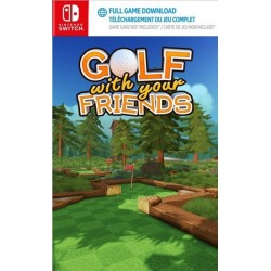 Golf With Your Friends (Code in Box) - Switch