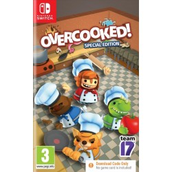 Overcooked! Special Edition (Code in Box) - Switch