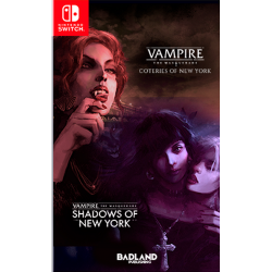 Vampire : The Masquerade - Coteries of New York + Shadows of New York - Switch