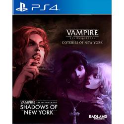 Vampire : The Masquerade - Coteries of New York + Shadows of New York - PS4