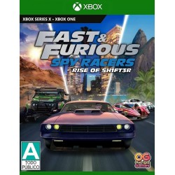 Fast & Furious : Spy Racers Rise of SH1FT3R - Series X / One